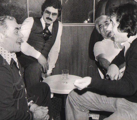 Ernest Borgnine, Tony Santagata - New York 1979